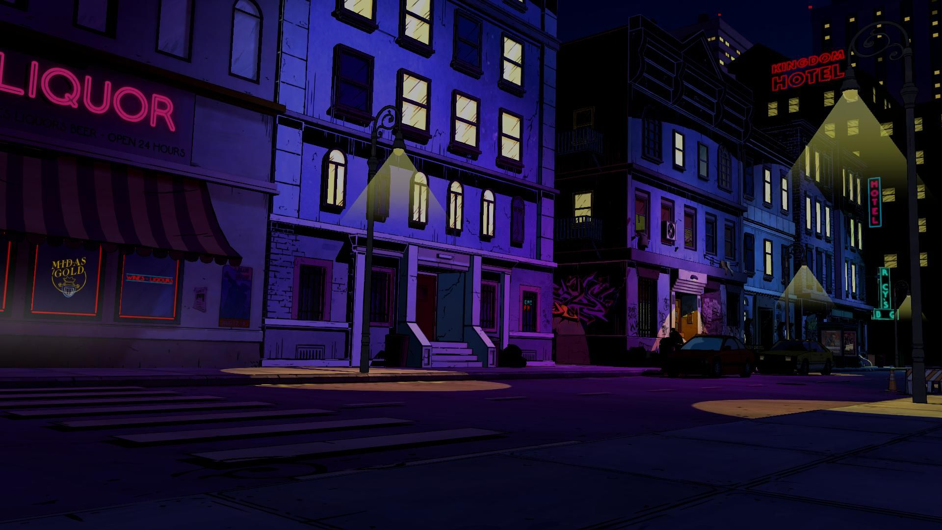 Hd 1920 X 1080 The Wolf Among Us Streetview The Wolf Among Us Aesthetic Art Film Inspiration