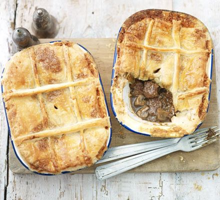 Steak and ale pie with blue cheese crust! | Steak and ale ...