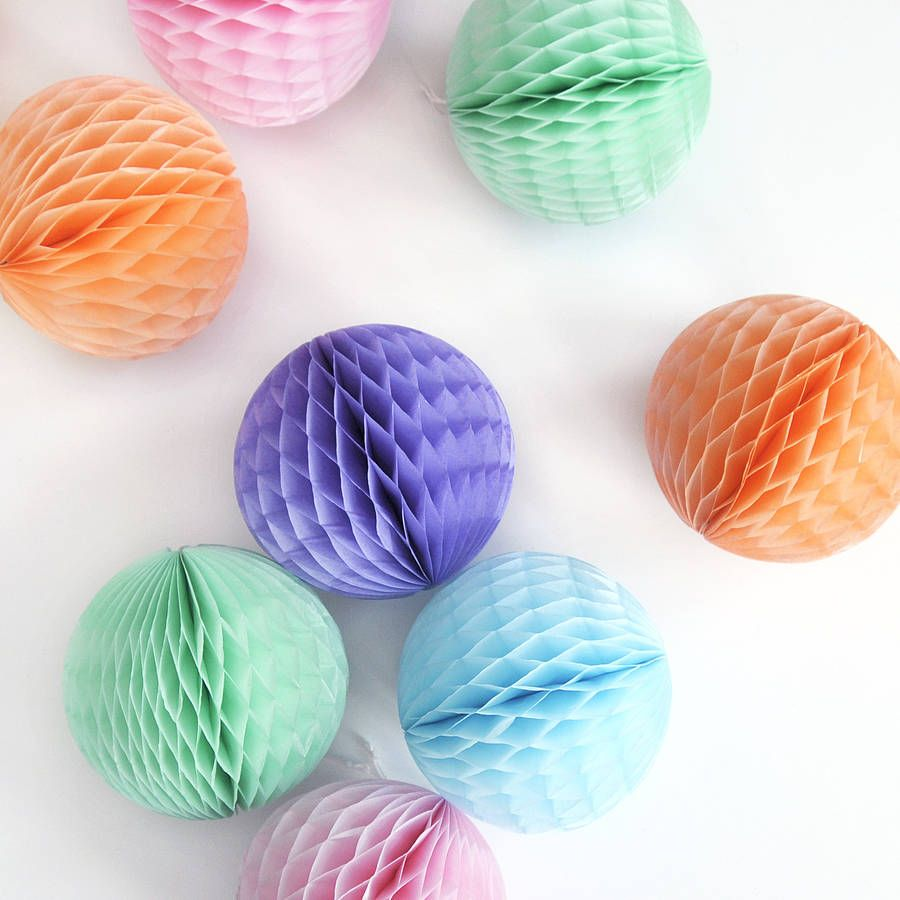 Tissue Paper Ball Decorations Tissue Paper Ball Decoration  Tissue Paper Ball Ball Decorations