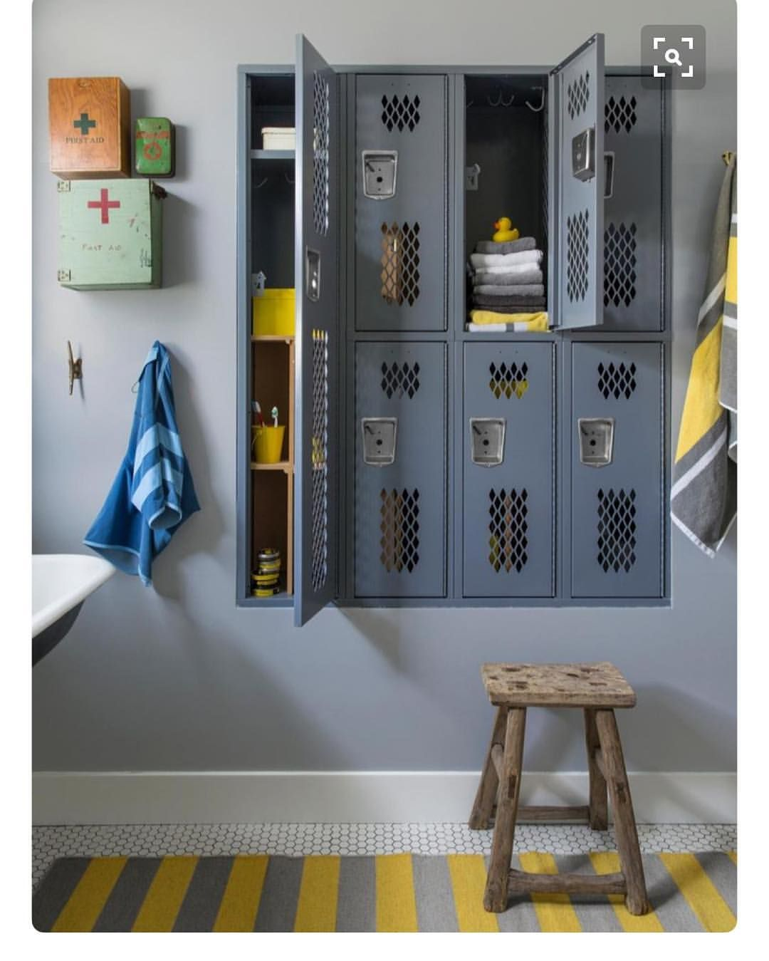 pin by blair moore on bathroom s vintage lockers locker storage rh pinterest ch