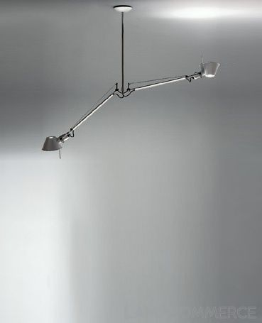 Artemide Tolomeo Pendant Light Double Arms Lights Lamps Lampcommerce Illuminazione Scale Scale Parete