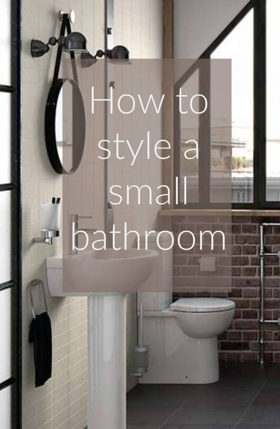 how to style a small bathroom design pinterest small bathroom rh pinterest com