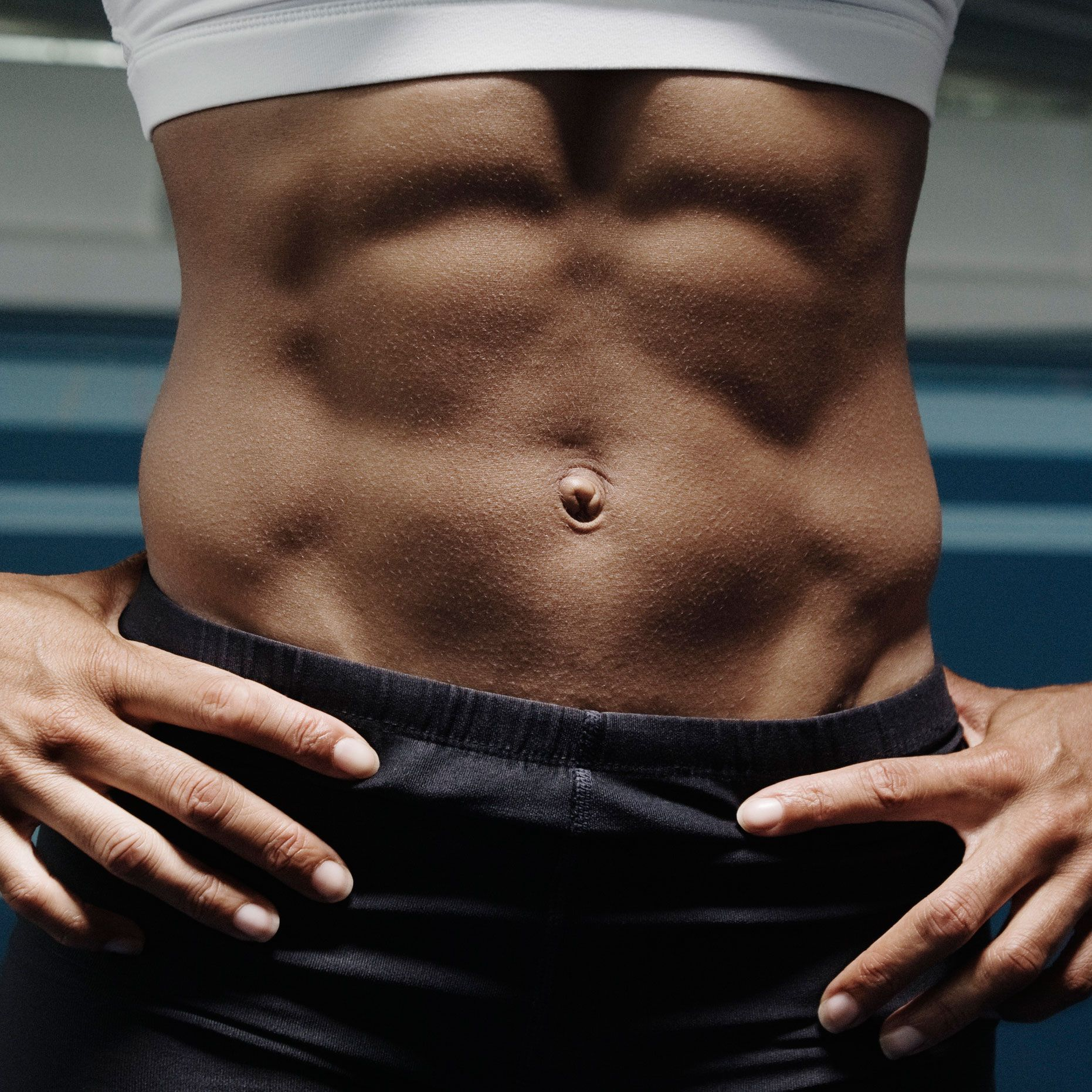 how to work out your abs at home fast
