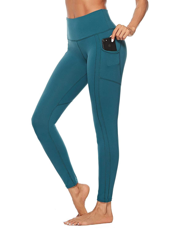 d0c0ebdfec Women's Workout Leggings Pockets Yoga Running Sports Gym – Valentafashion