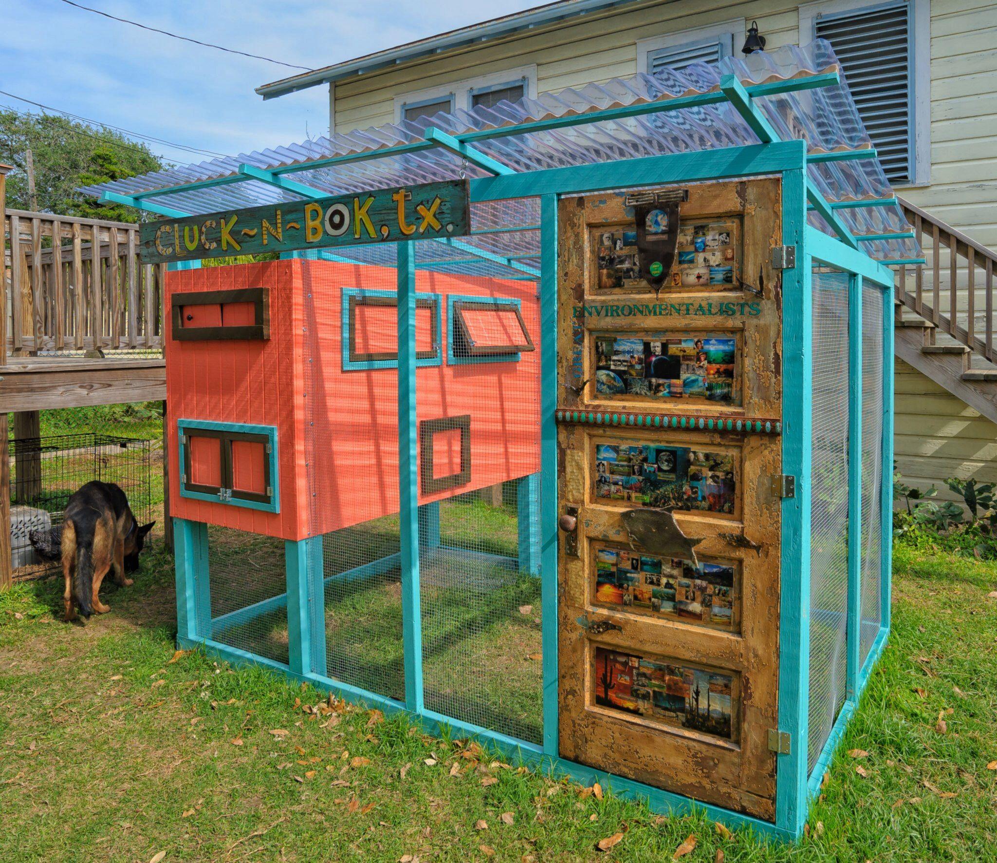 Miami Modern Chicken Coop Chicken coop, Chicken shack, Coop
