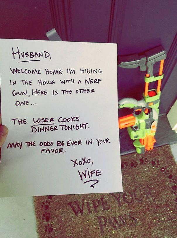 "23 ""Love"" Notes That Show What Marriage Is Really Like #comedy #marriage #notes #really"