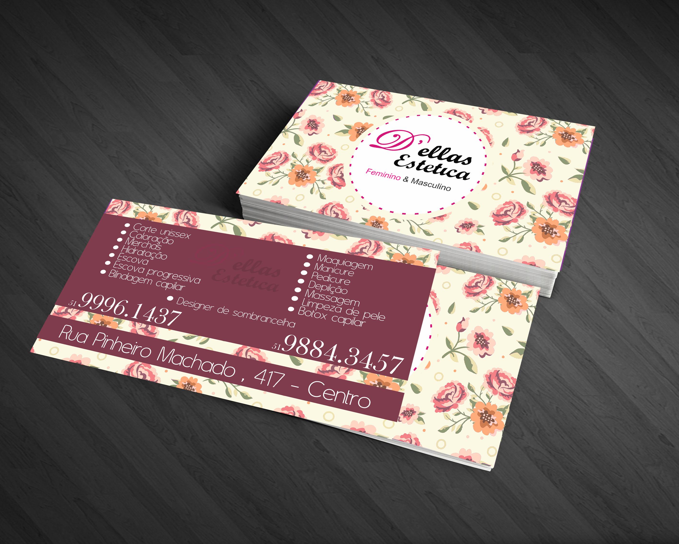 Cartão de visita de nossas amigas e clientes, Maira e Cintia ! D ...