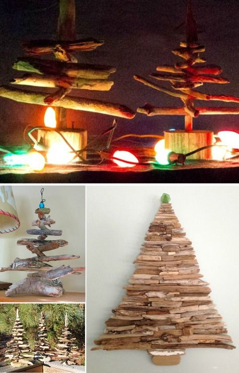 Shop Driftwood Christmas Trees Shop The Look Christmas Tree Shop Driftwood Wall Art Driftwood Christmas Tree