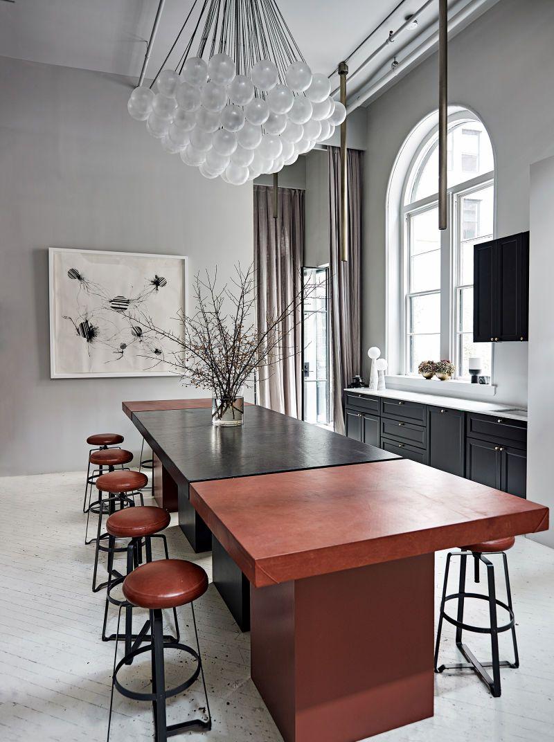 Apparatus Showroom in New York Design KitchenKitchen