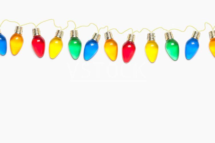 christmas light string background usa illinois metamora colorful christmas lights on white - Christmas Light String