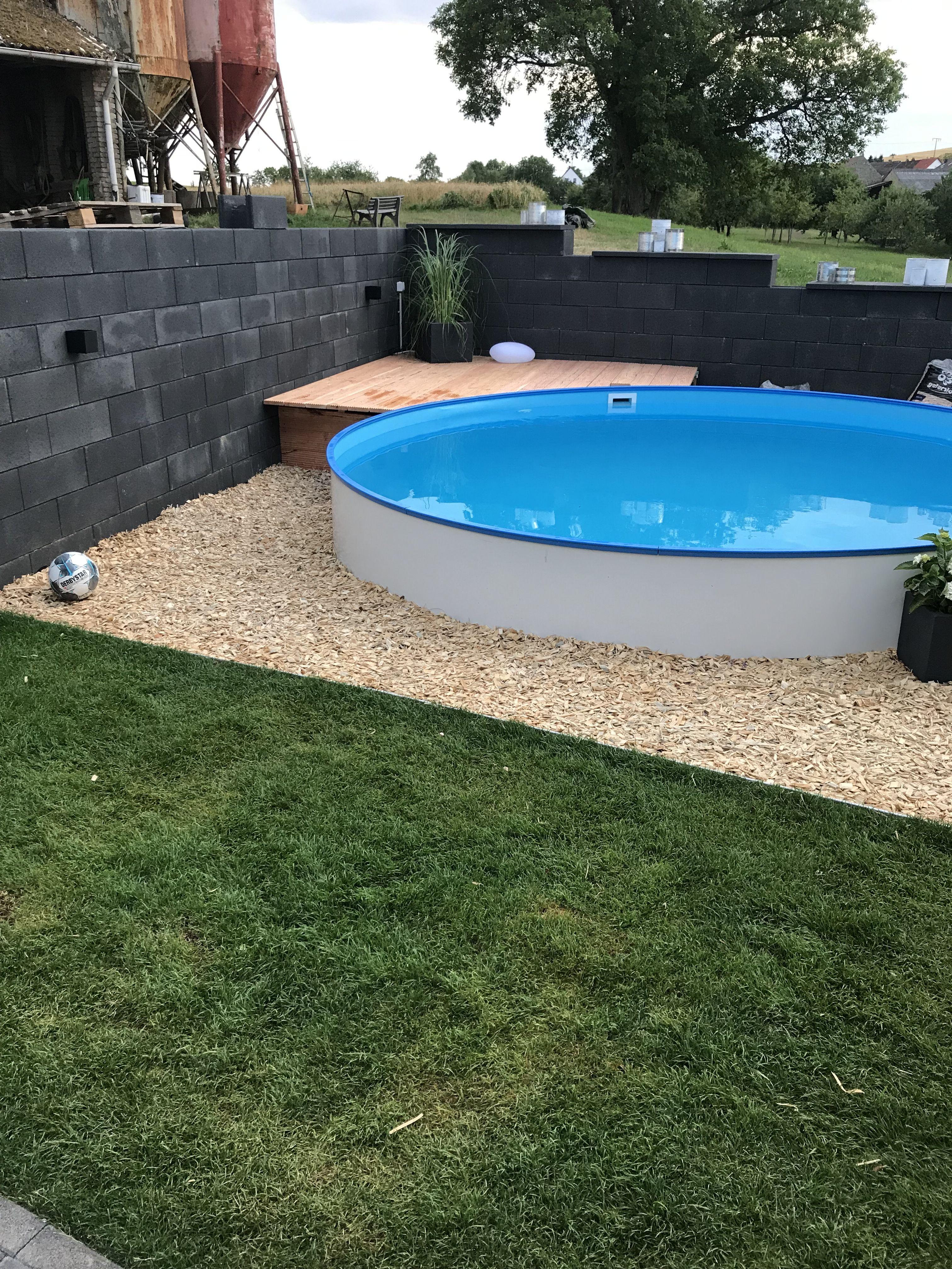 Pool Umrandung Gartenpools Pool Umrandung Pool Im Garten