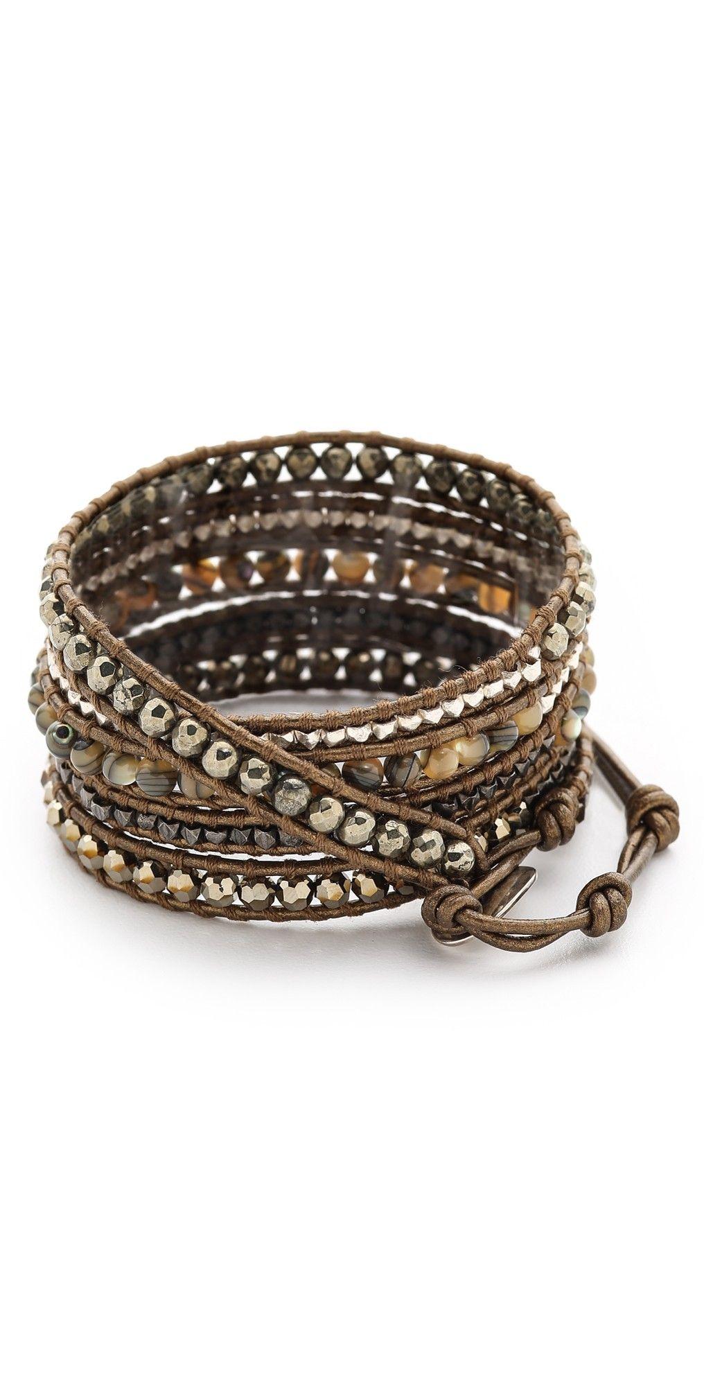 Chan luu beaded wrap bracelet beaded wrap bracelets