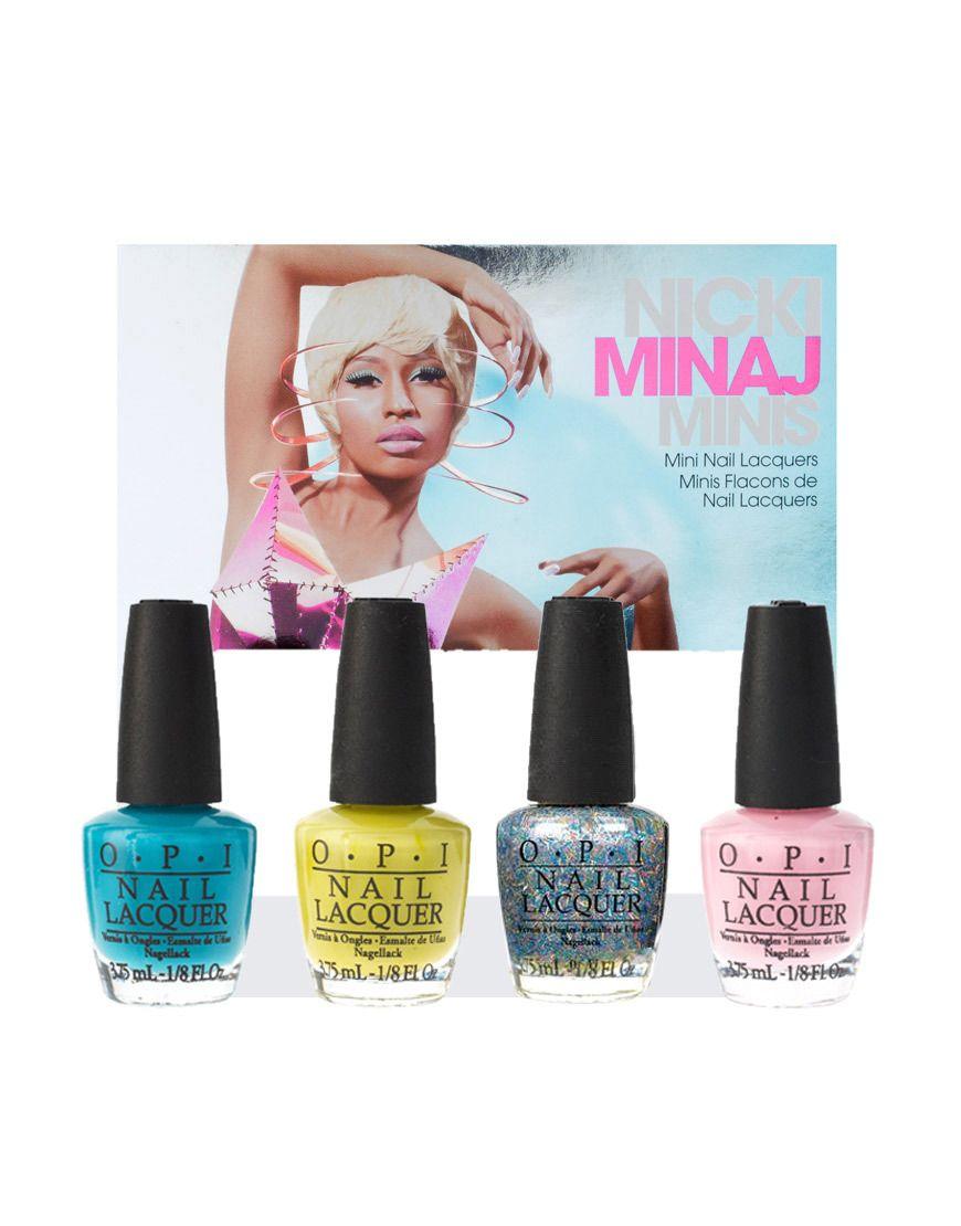 ASOS // O.P.I Nicki Minaj Mini Collection   Beauty   Pinterest ...