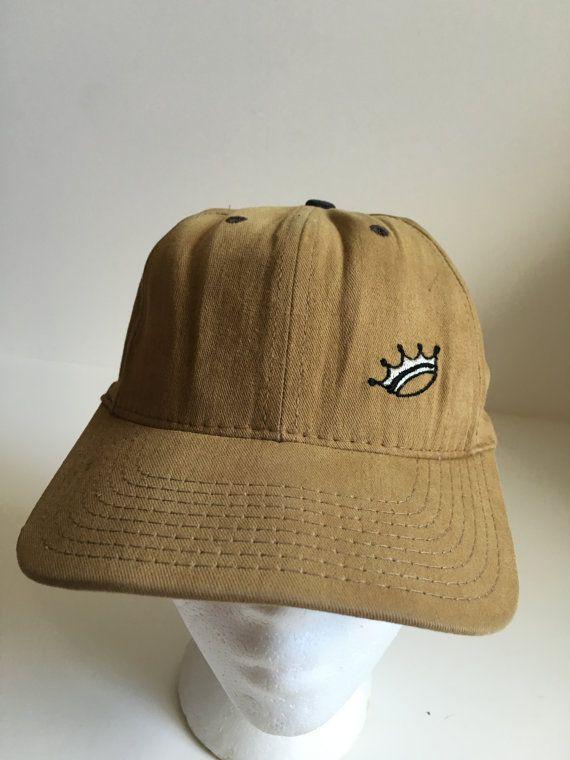 Vintage Stussy Crown Snapback Hat 90s Streetwear | Snapback
