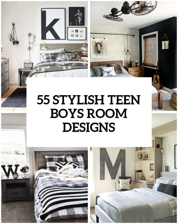 55 modern and stylish teen boys room designs home kids rooms rh pinterest com