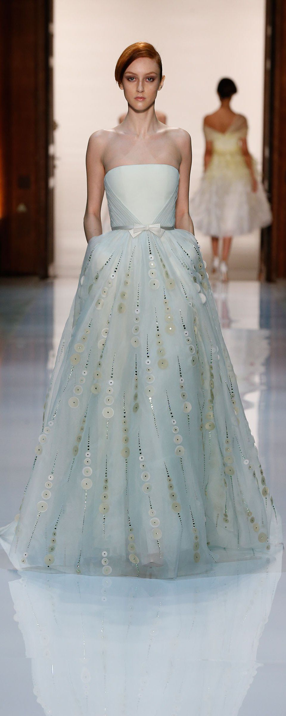 Georges Hobeika Printemps-été 2014 - Haute couture   vestidos XV ...
