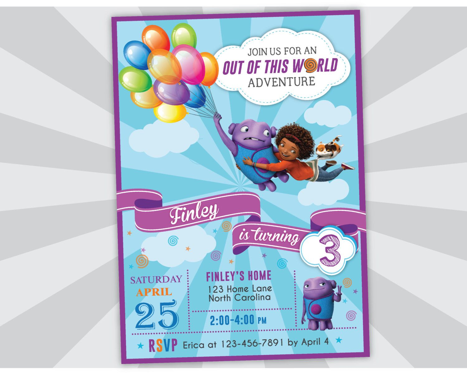 Home movie invitation home birthday party invites oh and tip home movie invitation home birthday party invites oh and tip by yourmaineventprints on etsy stopboris