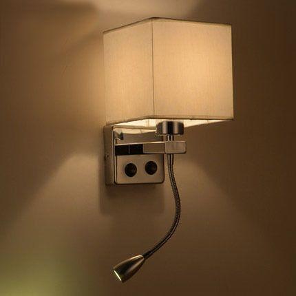 Aliexpress Com Acheter Moderne Breve Mur De Chevet Lampes 1 W Led Lecture Lampe Ikea Mur Bed Bras Flexible A Bascule Lampe Ikea Eclairage Mural Interieur Led