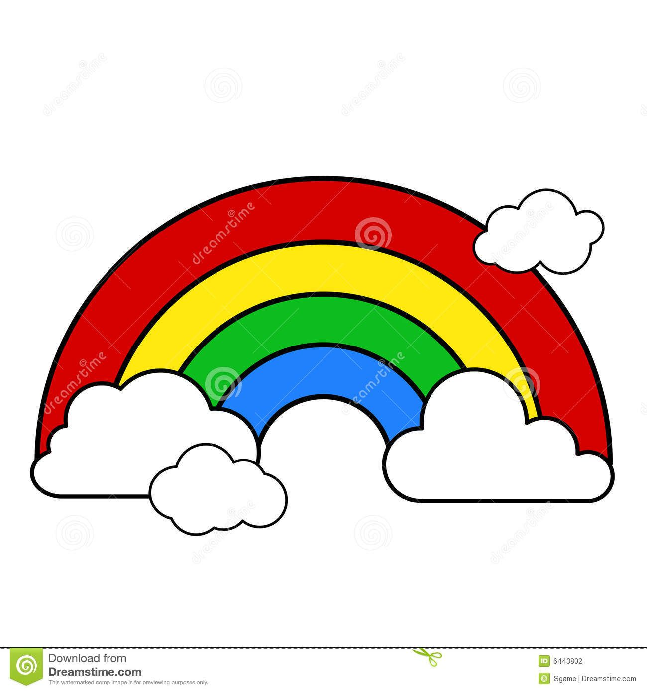 rainbow with clouds clipart applique pinterest cloud rainbows rh pinterest com rainbow clipart black and white free rainbow trout black and white clipart
