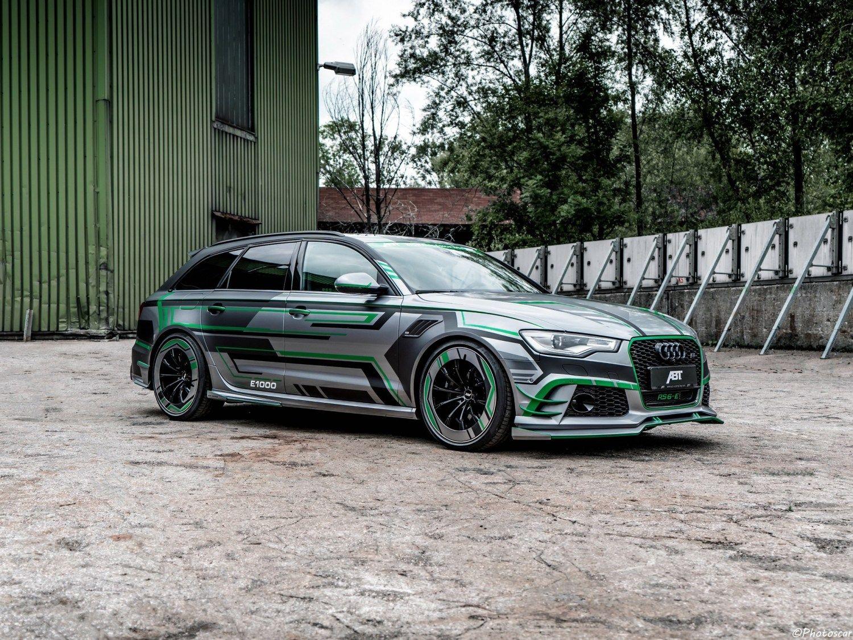 Abt Audi Rs6 E Avant Concept 2018 Wagon Hybride De 1 000 Chevaux Audi Rs6 Audi Wagon