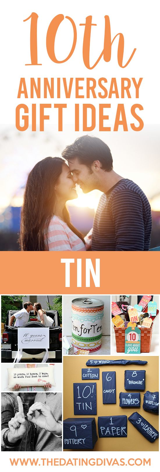 10th Anniversary Gift Ideas For Your TIN These Are ALL Soon Cute The