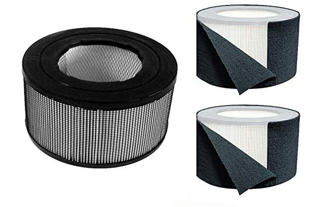 Made in USA CAPTAINS COMPASS Precut Filter C 4 Pack for FLT5000//FLT5111 Premium Carbon Activated Pre Filters GermGuardian AC5000 Series Compatible