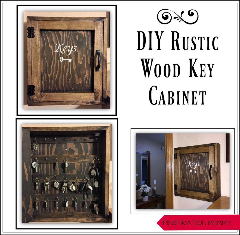 Diy rustic wood key key rustic diy