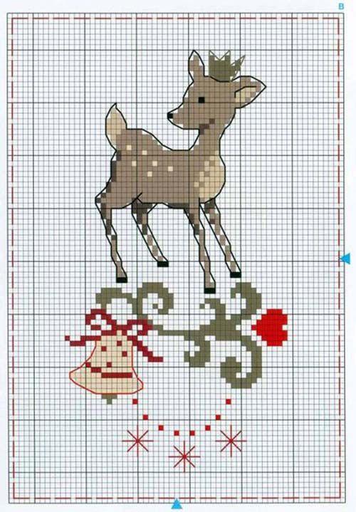 Motivos navideños en punto de cruz02 christmas cross stitch