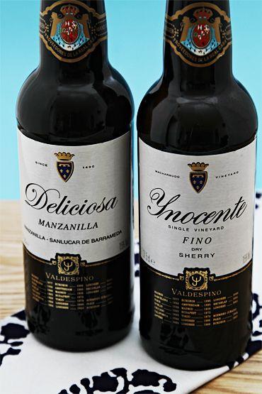 Valdespino Inocente Fino Sherry and Deliciosa Manzanilla paired with tapas!