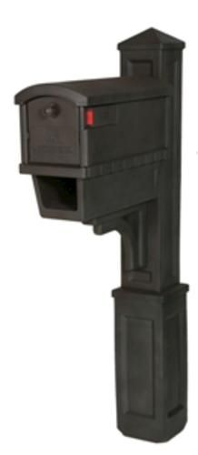 Gibraltar Industries Plastic Heritage Combo Mailbox With News Holder Venetian Bronze At Menards Gibraltar Industries Re Wooden Posts Menards Outdoor Decor