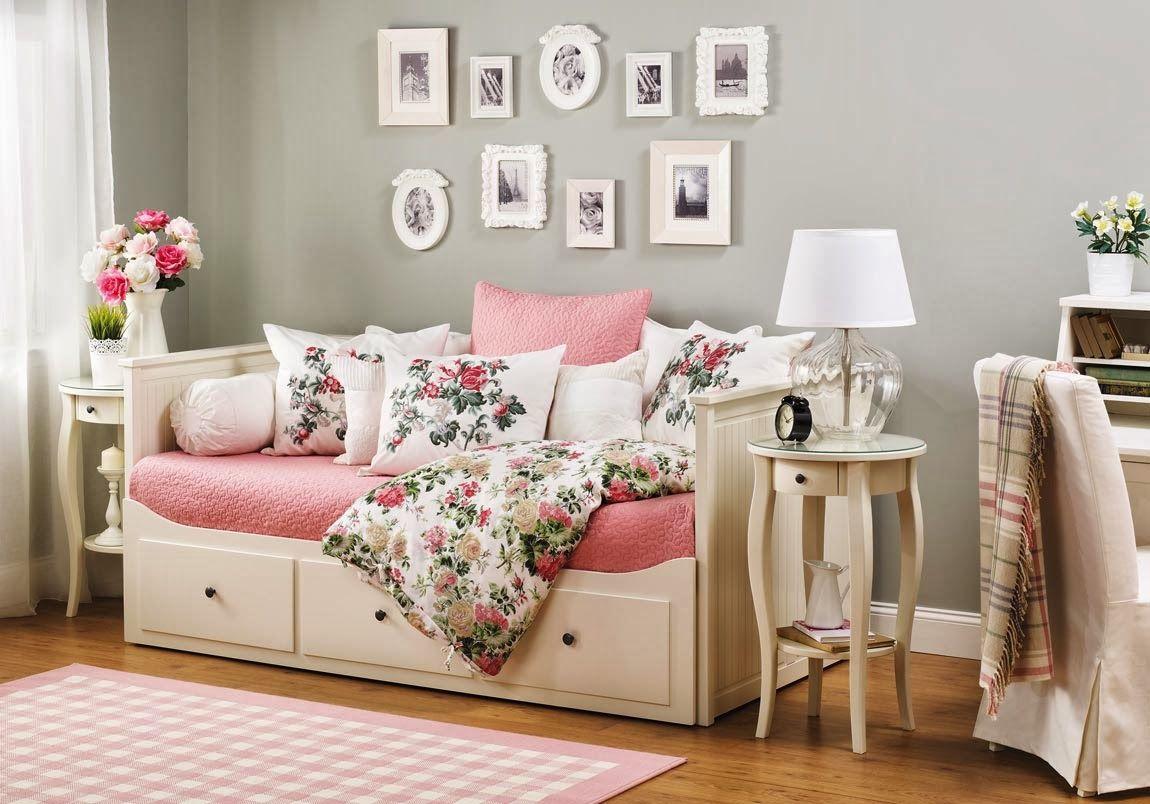 Ikea Daybed Yatak odası tasarımları, Ikea oturma odası
