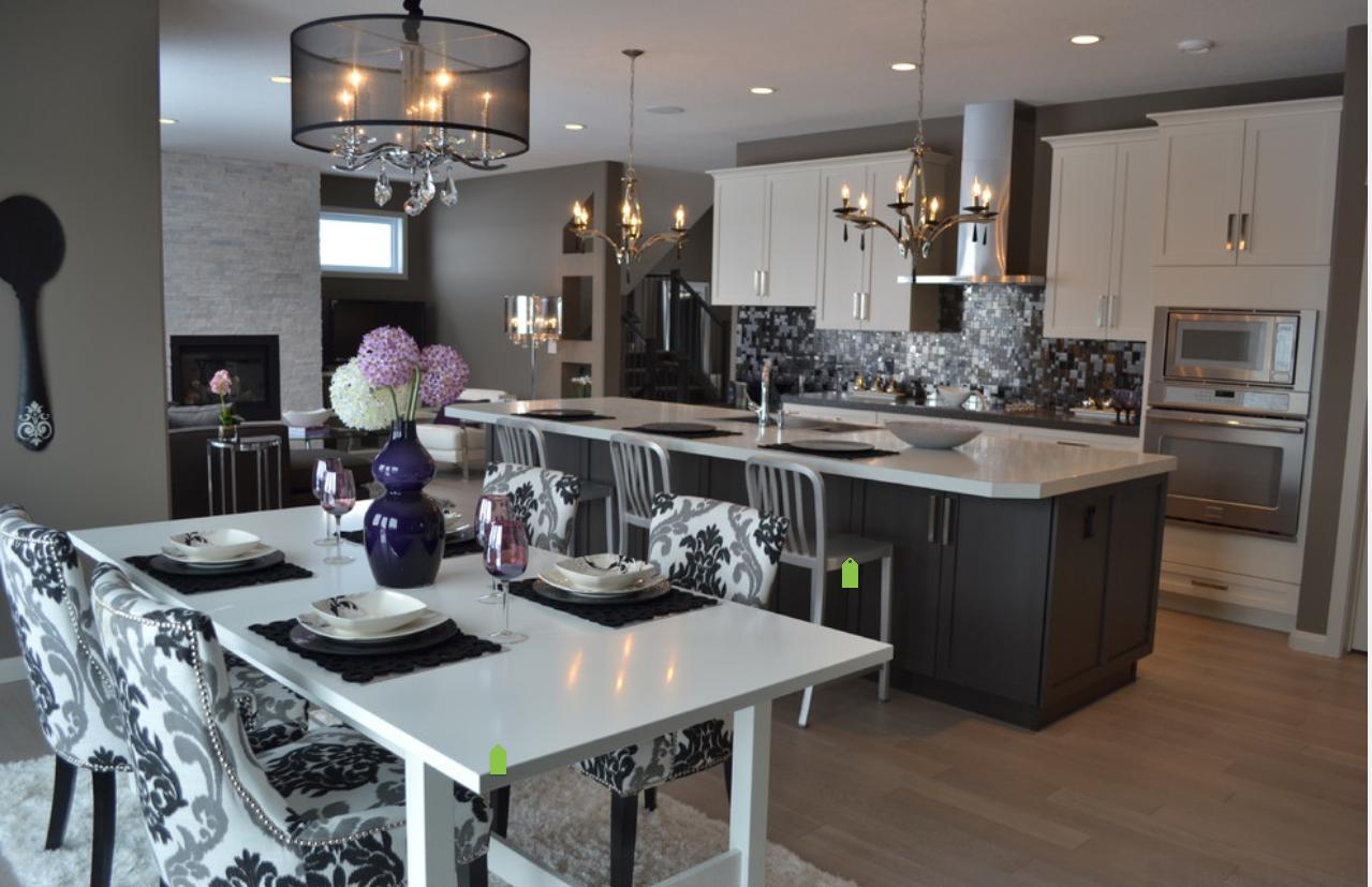 Glam Luxe Design Contemporary Kitchen Design Home Decor Kitchen Home Goods Decor