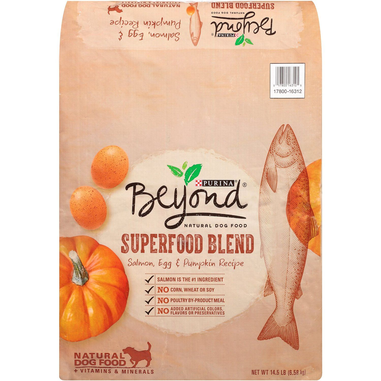 Purina Beyond Superfood Blend Natural Salmon Egg and Pumpkin Recipe