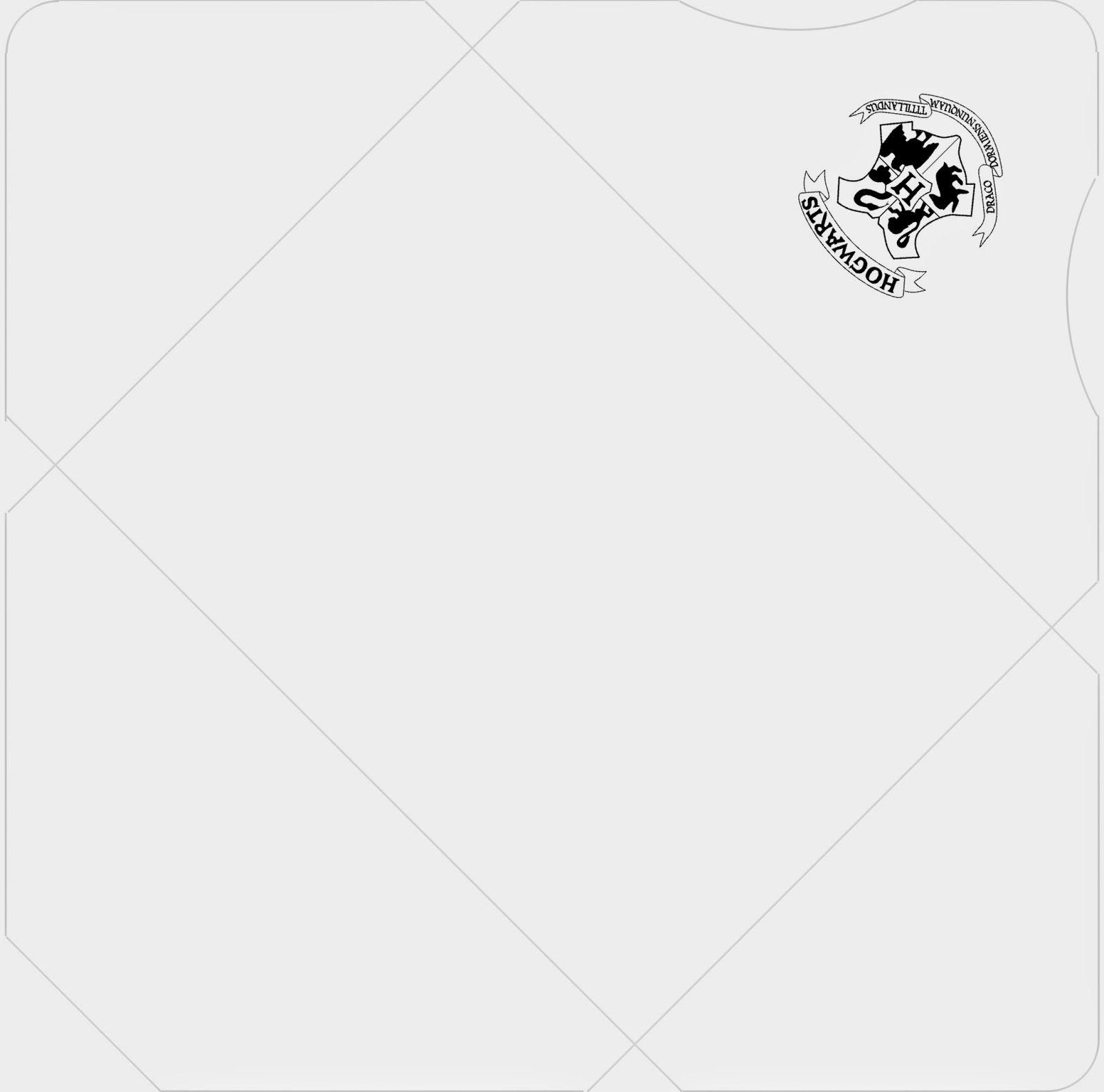 hogwarts acceptance letter envelope template printable free download