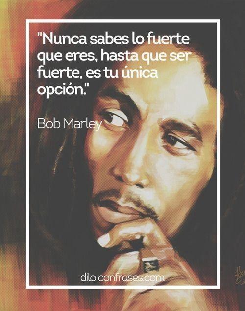 Grandes Frases De Bob Marley El Dios Del Reggae Cantantes Bob