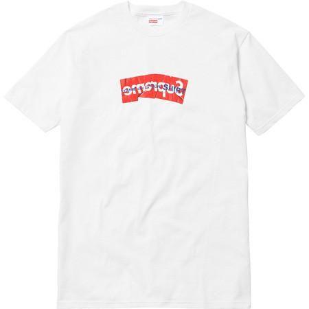 Supreme x CDG (COMME des GARÇONS) Box Logo Tee (White)