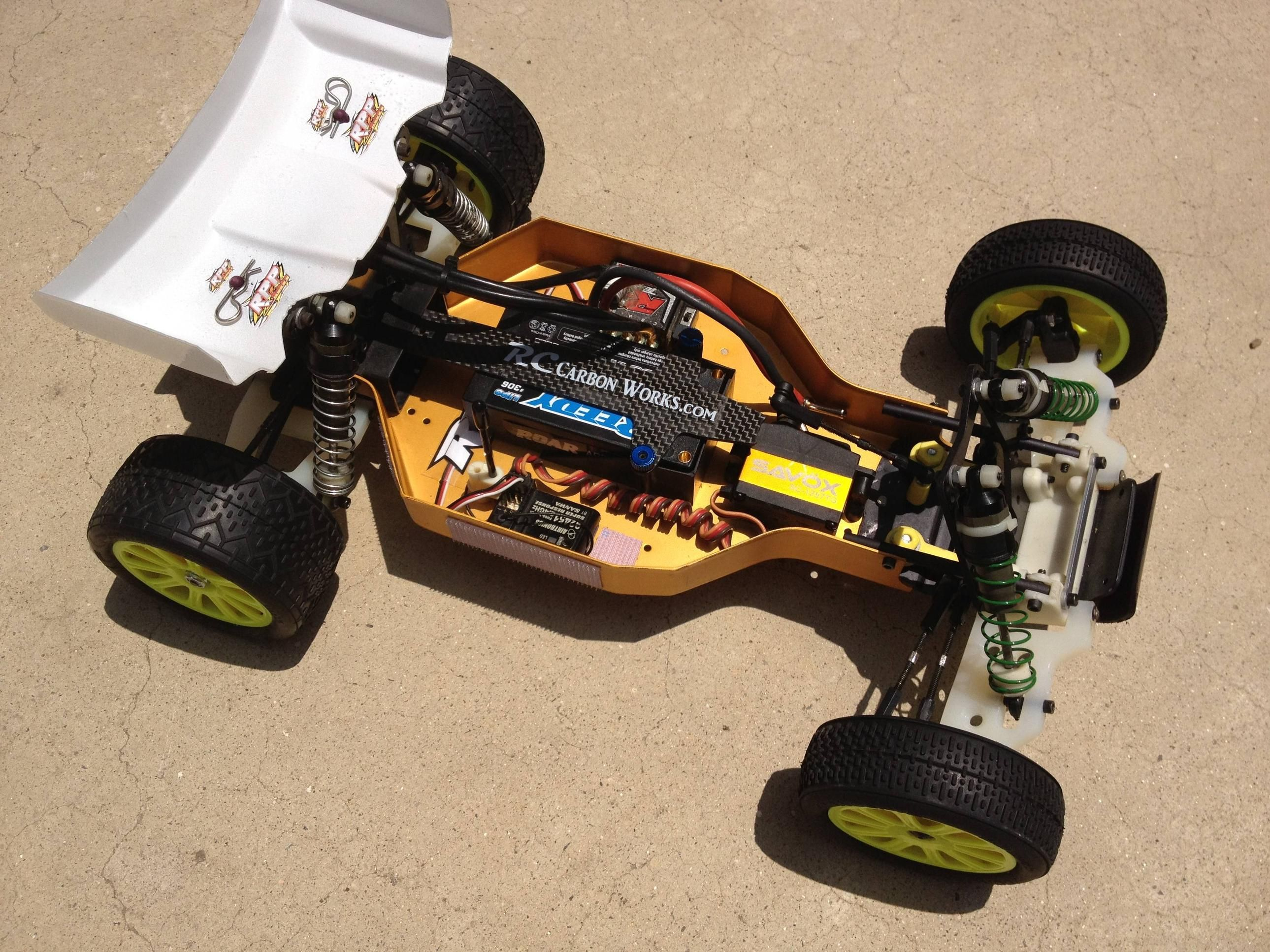 "team associated ""old is new"" RC10 Long wheelbase extended arms b44"
