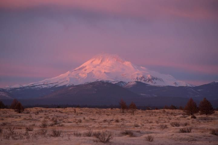 Mt. Jefferson, Warm Springs Reservation. Joe Cantrell 12/15/12