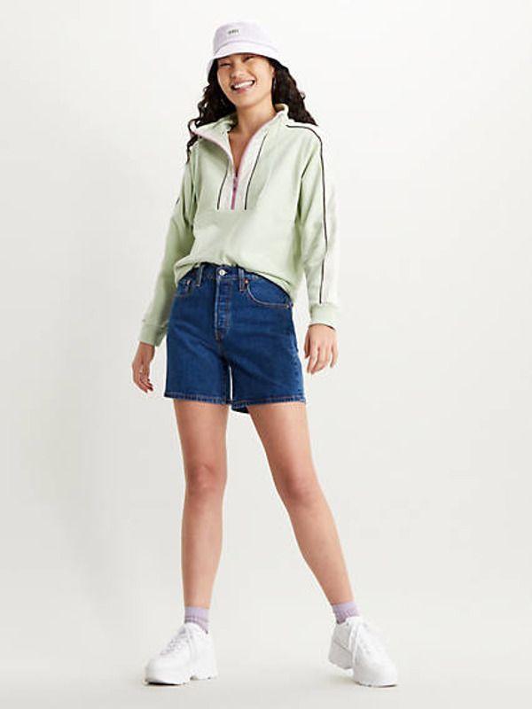 501® Mid Thigh Shorts - Dark Indigo