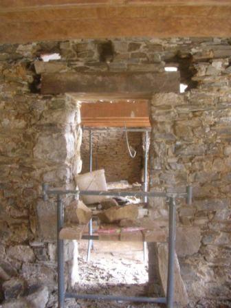 ouverture dans un mur en pierre Forum Maçonnerie - Façades