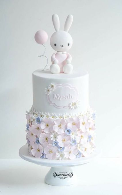 69+ Trendy Baby Shower Cake Bunny -   14 cake Decorating baby ideas