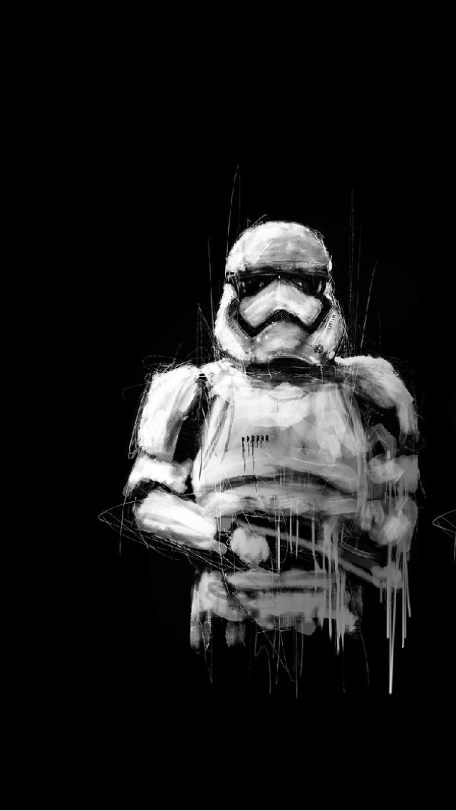 Stormtrooper Art Iphone 5 Wallpaper 640x1136 Star Wars Poster Star Wars Art Star Wars Poster Art