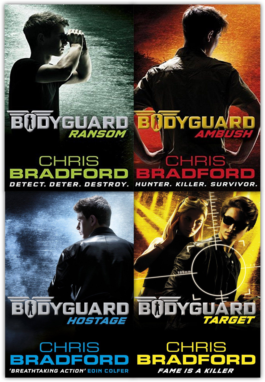 Chris Bradford Bodyguard Series Moodboostingbooks