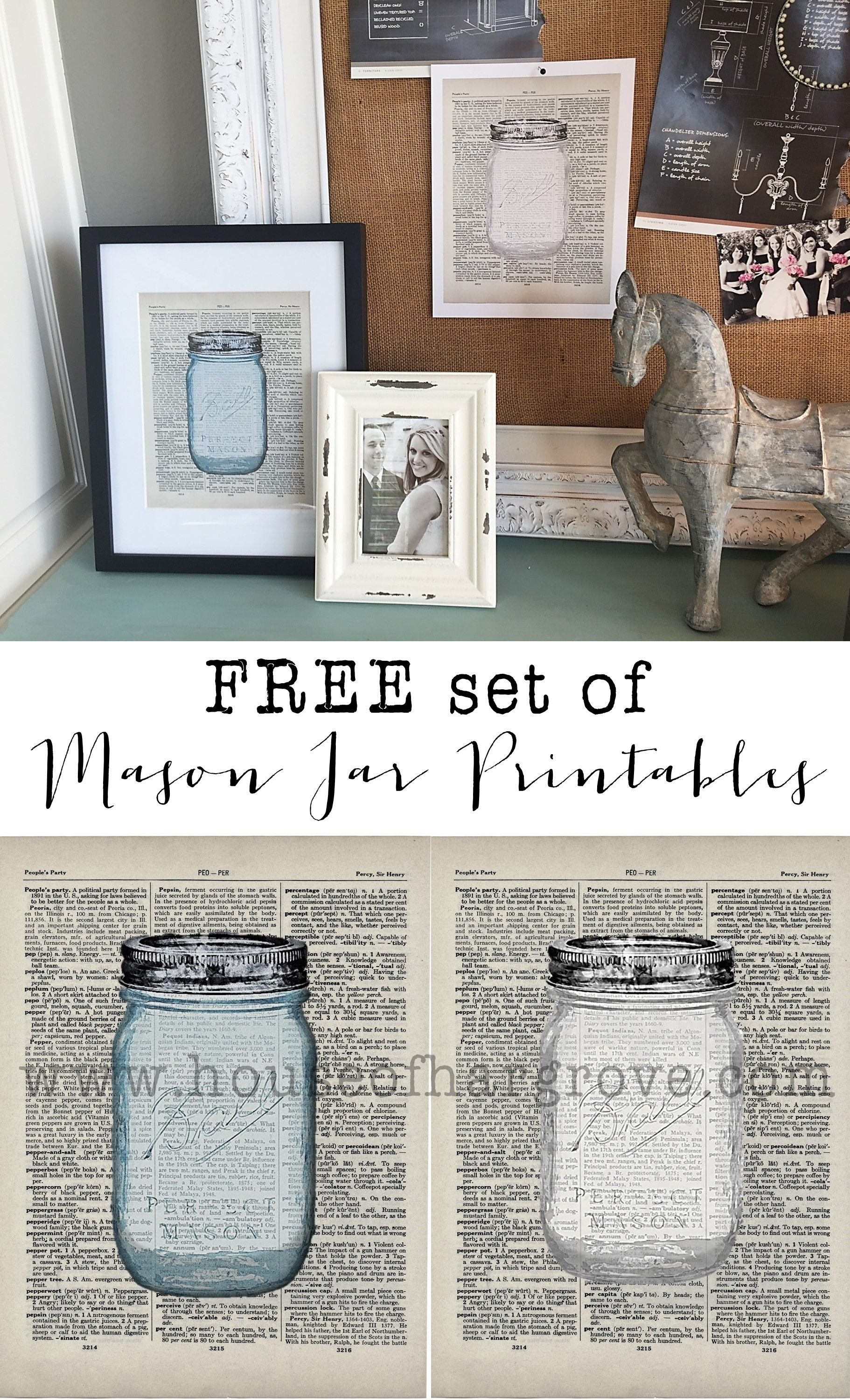 Mason Jar Printables-FREE - House of Hargrove