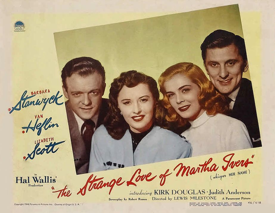 The Strange Love Of Martha Ivers Movie Poster  Privacy Statement