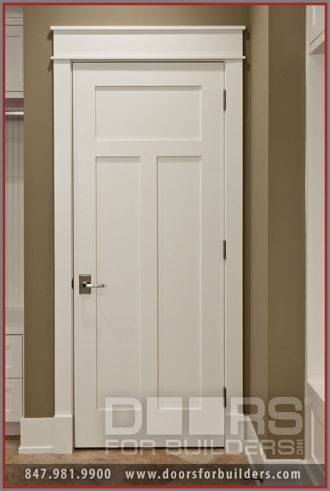 113 Reference Of Craftsman Style 3 Panel Interior Door In 2020 Doors Interior Wood Doors Interior Farmhouse Doors