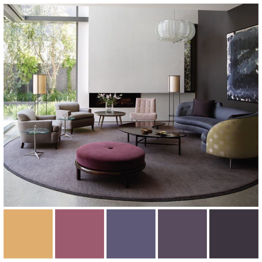 Kay Kollar Design Wigtown House Features Hues Inspired By A Triadic Colour Palette In This