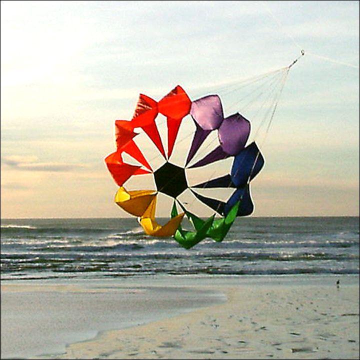 Spinflower Kite Line Laundry Wind Art Kite Go Fly A Kite