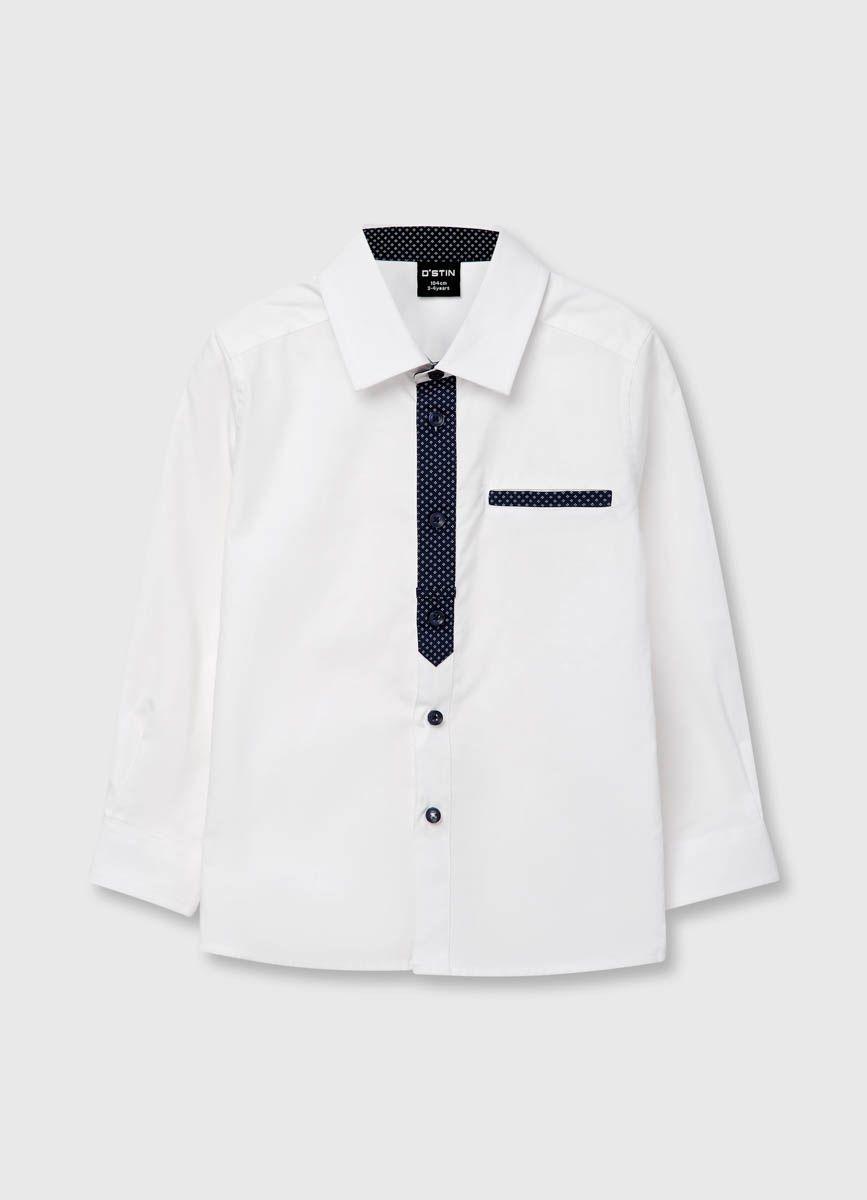 f2b60a079 Купить Рубашка для мальчиков (BS6RA4) в интернет-магазине одежды O'STIN