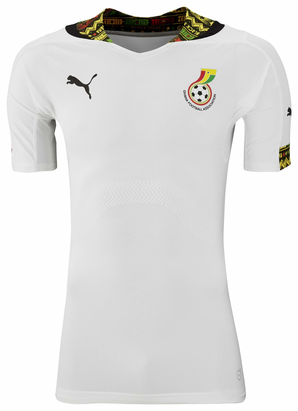 ed13c983fb Ghana (Ghana Football Association) - 2014 World Cup Home Shirt ...